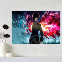 New Arrive Custom Canvas Print Tokyo Ghoul Poster Cloth Wall Silk Fabric Poster Print FREE SHIPPING