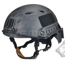 Спортивные шлемы страйкбол тактический прыгающий шлем A-Tacs облегченная модульная система переноски снаряжения снаряжение высокого качества для боевого отопления TB472 Мультикам