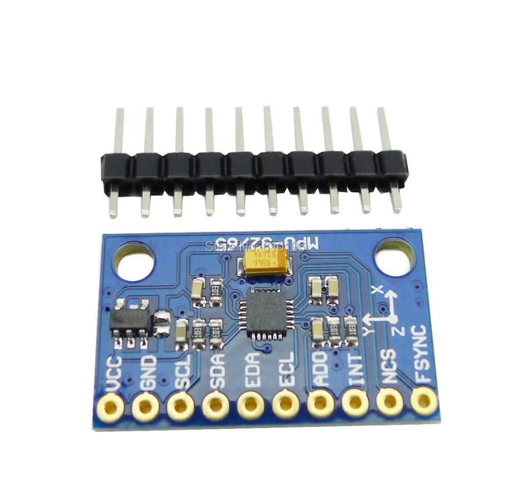 MPU-9250 GY-9250 9-axis Sensor Module I2C/SPI Thriaxis Gyroscope + Triaxial Accelerometer + Triaxial Magnetic Field