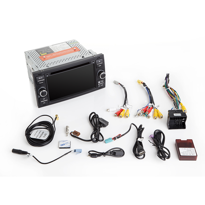 Liislee For Ford Transit / For Focus Car Navigation GPS HD Touch Screen Support WiFi FM Transmitter Multi-languages