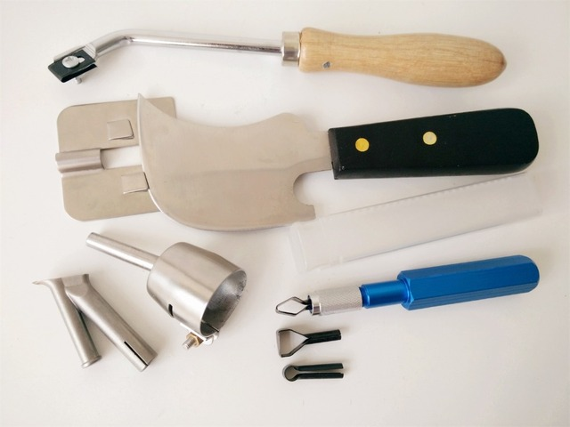 Gratis verzending hoge kwaliteit vinyl vloer weld kit items