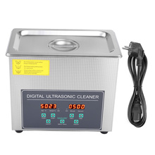 Double-Frequency Ultrasonic-Cleaner Cleaning-Machine Stainless-Steel 220V Eu-Plug Local