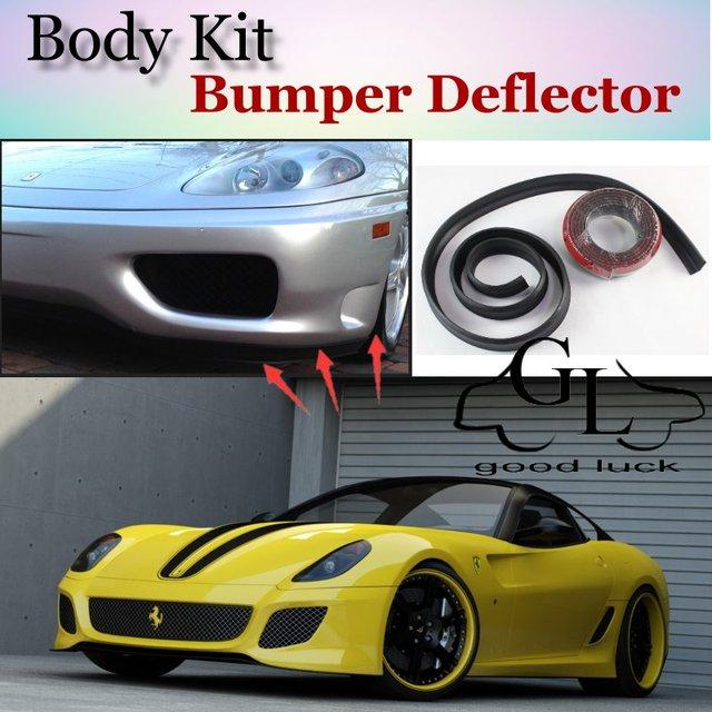 Bumper Lip Deflector Lips For Ferrari 599 Gtb Fiorano Front Spoiler