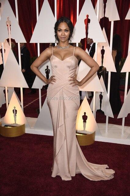 Zoe Saldana Evening Dresses
