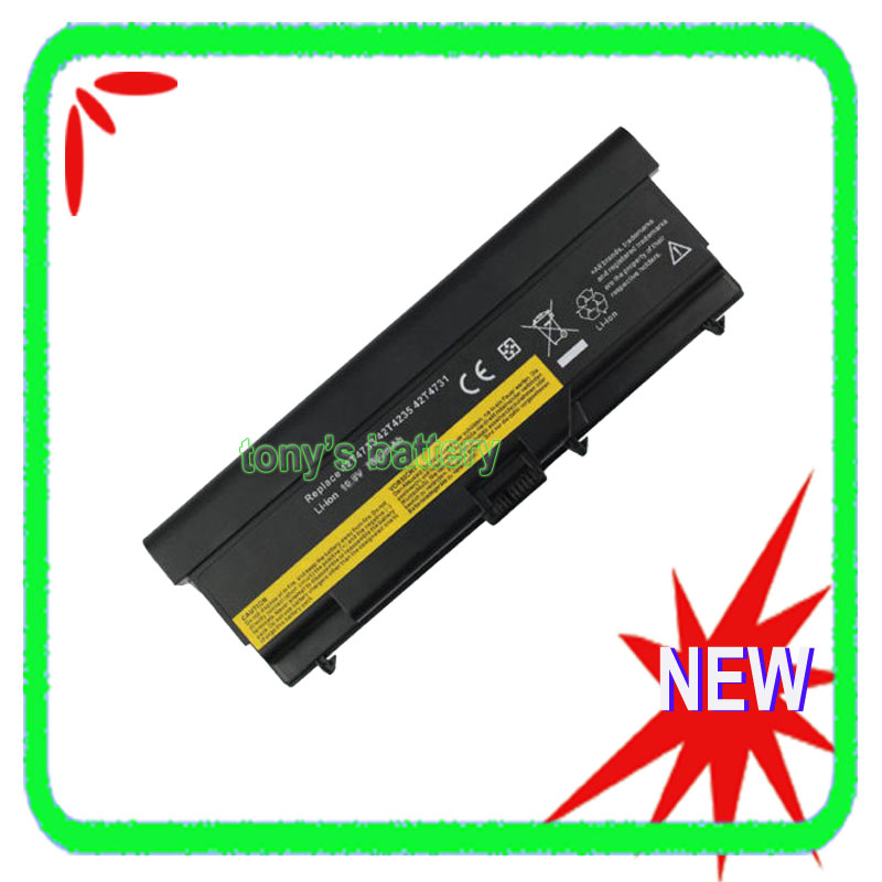 Batterie 9 cellules pour Lenovo ThinkPad T430 T430i L430 L530 T530 T530i W530 W530i 45N1001 42T4796 42T4733