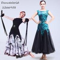 Modern dance ballroom dress Waltz large swing dresses for woman