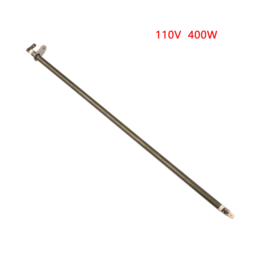 2 Pieces Of 110V 250-400W 310mm/370mm/410mm Heating Element For Electric Oven Electric Heat Tube With Metal Sheet By Annealing
