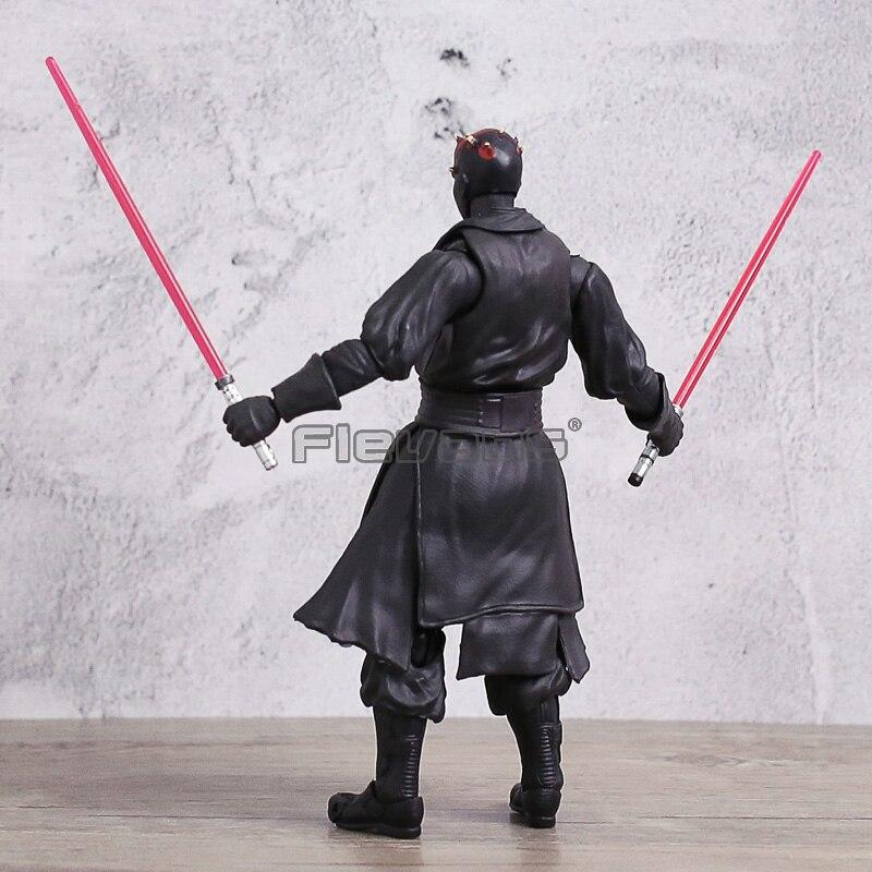 SHFiguarts Звездные войны Дарт Мол ПВХ подвижный фигурку игрушки Коллекция Модель подарок