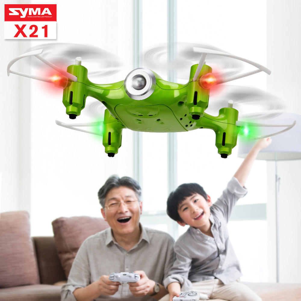 SYMA Official X21 RC Dron Mini Drone Remote Control Helicopter Quadrocopter Drones Quadcopter RC toys gift for Children все цены