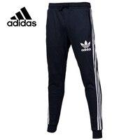 Original New Arrival Official Adidas Originals Men's Full Length Pants Sportswear