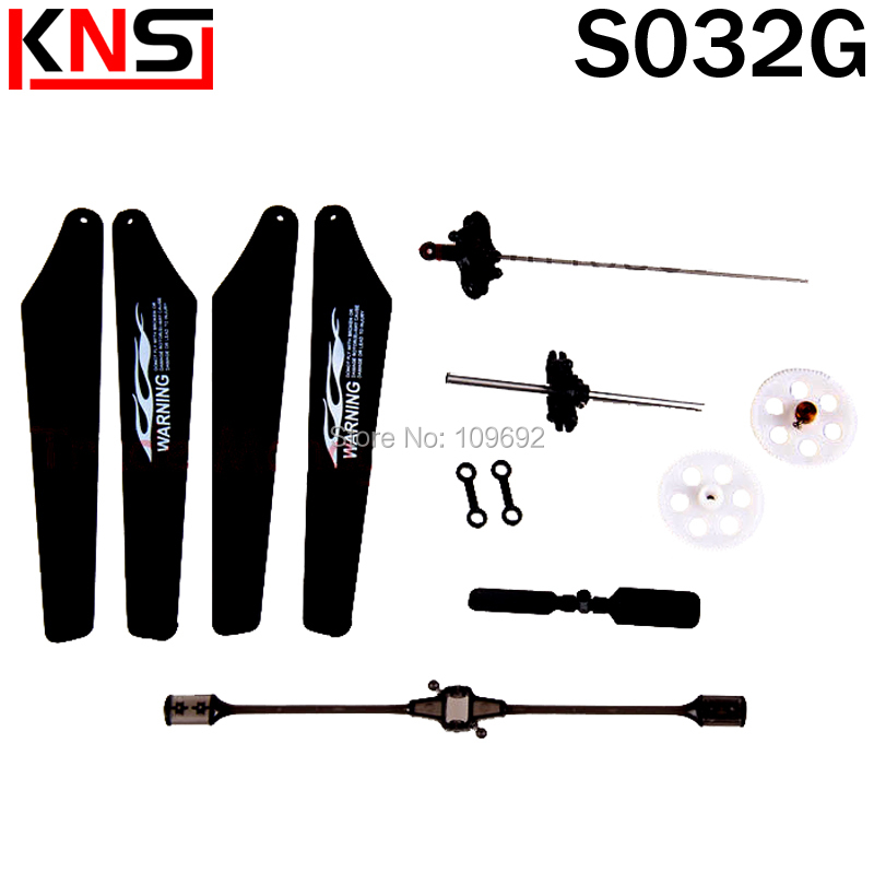 Free shipping SYMA S032 Gear, landing gear, the main fan, connect buckle ect parts for SYMA S032G RC helicopter accessories электромеханическая швейная машина vlk napoli 2200 mini