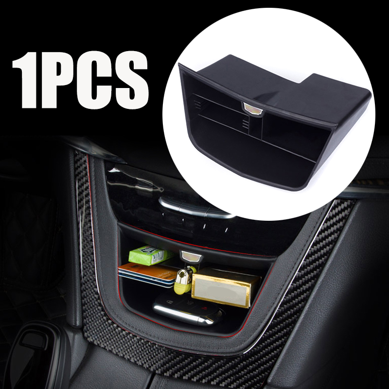 Interior Mouldings 1pc Dedicated Replacement Central Console Storage Box Durable Container Case For Cadillac XT5 2017 2018