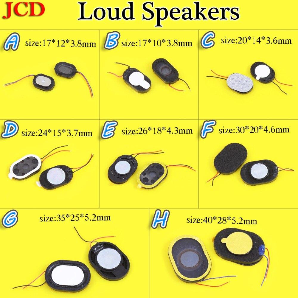 Common Maintenance Parts Earpiece Speaker Ear Oval Loudspeaker With Electric Wire 17*10*3.8/17*12*3.8/20*14*3.6/24*15*3.7mm...