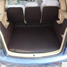 Хорошее качество! Специальные автомобильные коврики для багажника для Volkswagen Touran 5 мест-2004 водонепроницаемые коврики для багажника
