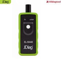 تفعيل jdiag EL50448 tpms أداة أداة استشعار مراقبة ضغط الإطارات tpms إعادة EL-50448 OEC-T5 لل spx موتورز المركبات