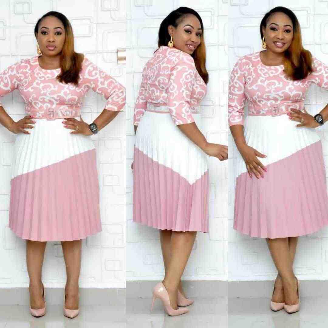 Африканские платья для женщин 2019 элегантное модное платье в африканском стиле плюс размер полиэстер длиной до колена L-3XL
