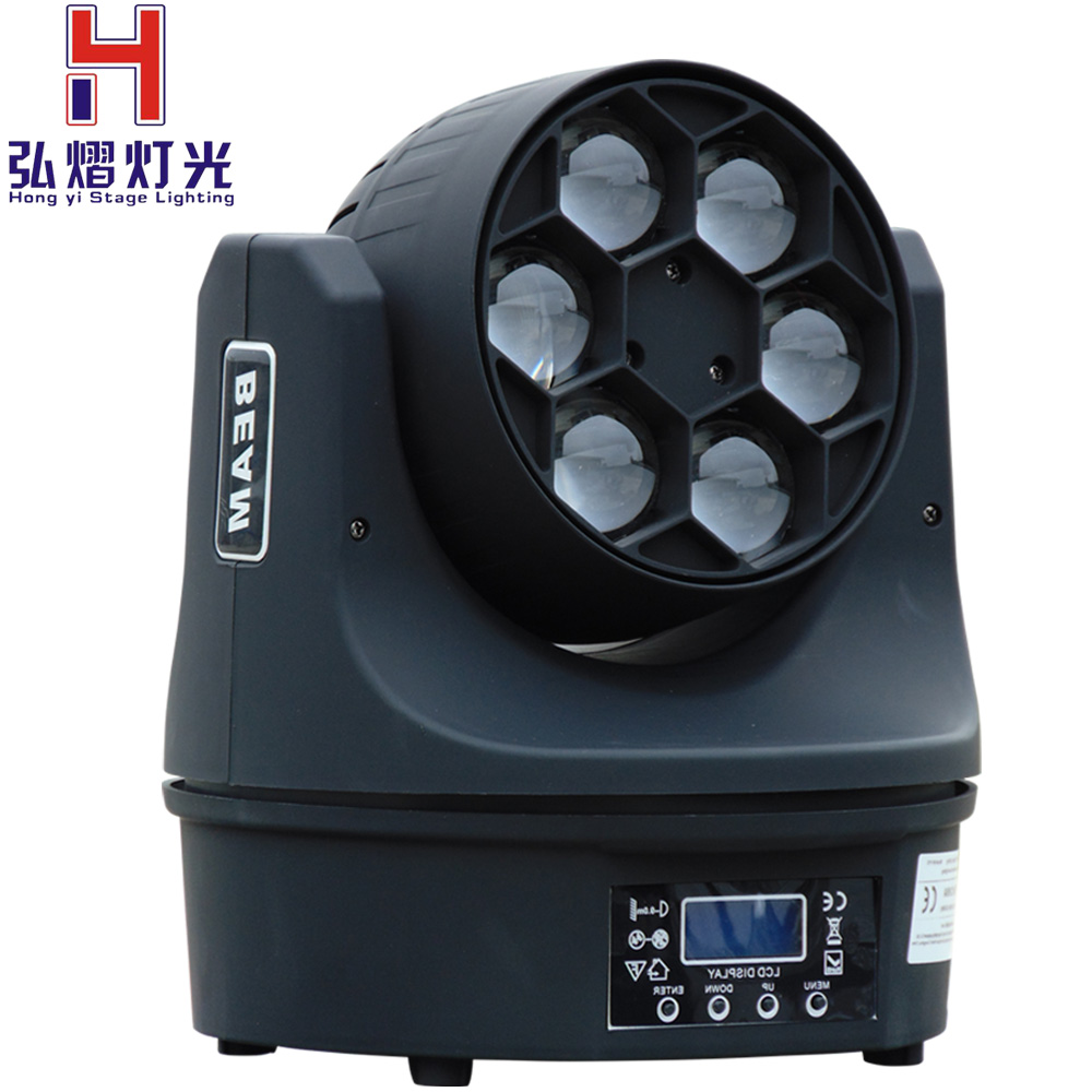 Lighting Mini Bee Eye 4in1 RGBW 6*15w LED Moving Head Light Club DJ Stage Lighting Party Disco Moving heads LightLighting Mini Bee Eye 4in1 RGBW 6*15w LED Moving Head Light Club DJ Stage Lighting Party Disco Moving heads Light