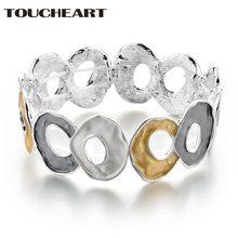 Toucheart ручной работы браслет из цинкового сплава спиральный