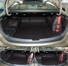 Хорошее качество! специальная магистральных коврики для Нового Chevrolet Malibu 2016 водонепроницаемый загрузки грузового лайнера ковров для Malibu 2017, Бесплатная доставка