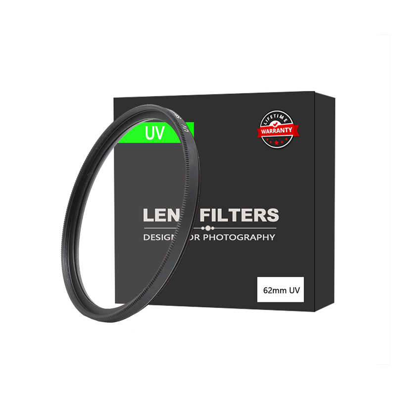 EDMTON 40.5m49mm 52mm 55mm 58mm 62mm 67mm 72mm 77mm 82mm Filtro UV ultra-Violet Lens Filter Protector per Canon Nikon Sony DSLR