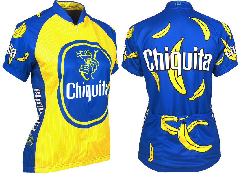 CHIQUITA BANANA Cycling Jersey Bike Ropa Ciclismo MTB Maillot