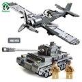 Pandadomik tank & avión de combate 1493 unids ejército militar conjunto de modelos y juguetes de construcción de bloques de construcción ladrillos compatibles con lego
