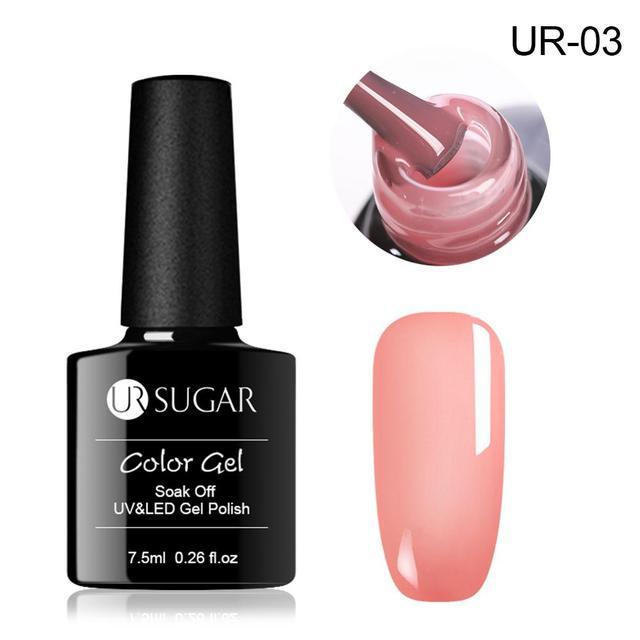 Aliexpress.com : Buy UR SUGAR 7.5ml Jelly Nude Gel