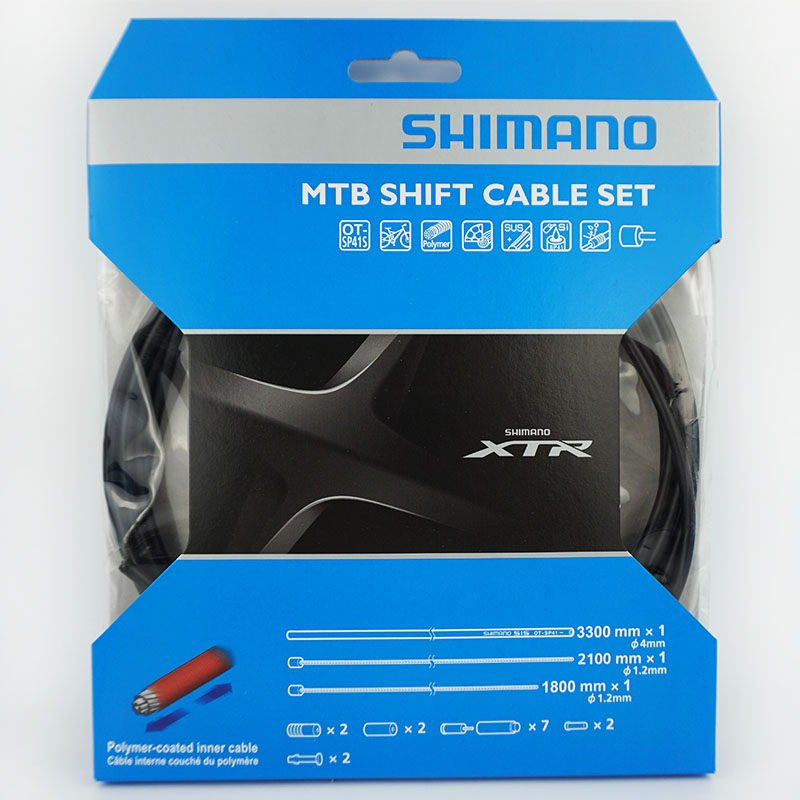 Ensemble de câbles de changement de vitesse SHIMANO XTR M9000 câble intérieur et boîtier extérieur Shimano accessoires de VTT de marchandises d'origine