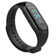 Купить с кэшбэком Smart Watch Bracelets M3 Blood Pressure Monitor Fitness Bracelet Activity Tracker Smart Band Pedometer Wristband pk mi band 3