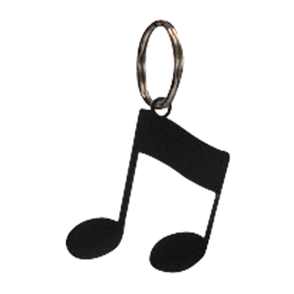Village Wrought Iron Music Note Metal Key Rings - Key Chain music note party swing dress