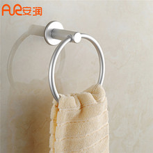 New Towel Rings Holder Bathroom Hooks For Towels Space Aluminum Towel Bars Rack Towel Bar Bathroom Accessories Home Decoration fashion space aluminium towel rack towel bar space aluminum bathroom accessories