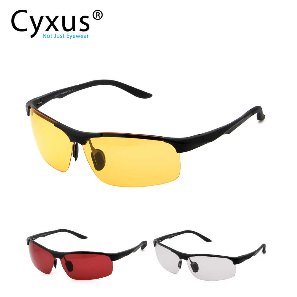 Cyxus Gaming Glasses Blue Light Filter Eyewear Anti Eye Fatigue For Gamers -8011