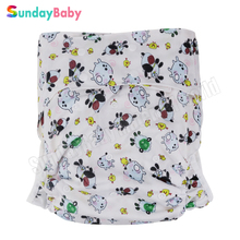 [usurpon] 1 pc Large size Adult cloth diaper pants for old man and disabled adjust size adult diaper underwear