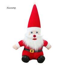 Niosung Father Christmas Santa Claus Plush Toys Gift Baby Kids Childrens Birthday V