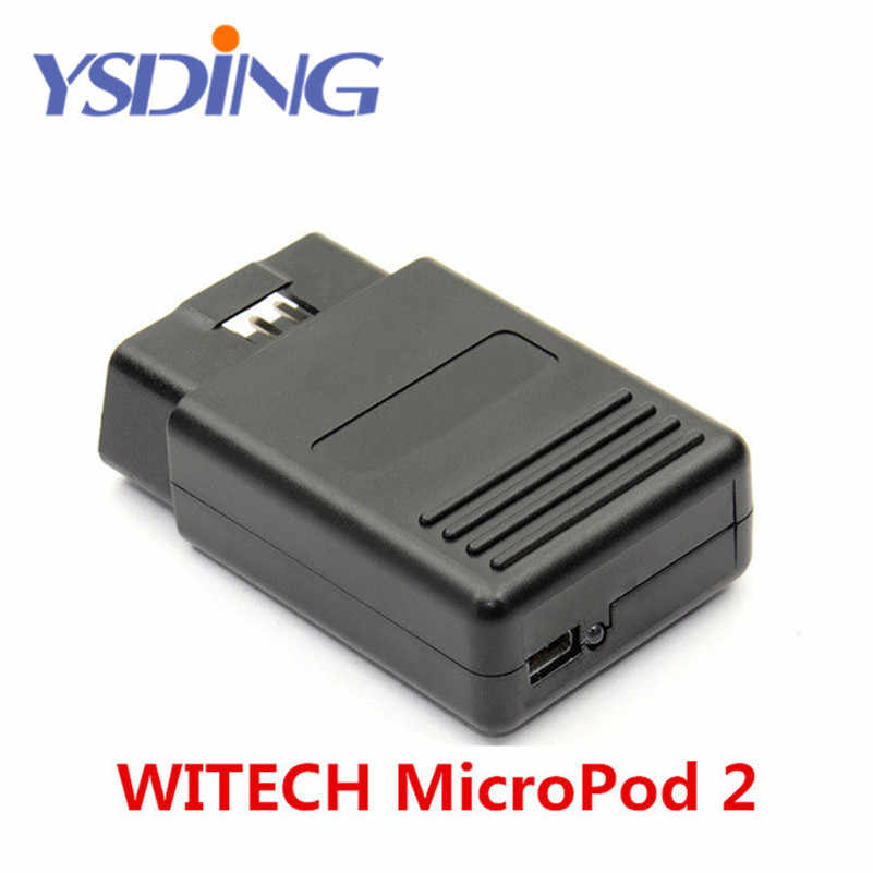 2017 Newly WITECH MicroPod 2 V17 04 27 For Chrysler With HDD Support  Multi-Languages for Chrysler latest diagnostic tool
