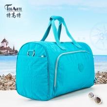 TEGAOTE 2016 Nylon Waterproof Kiple Men Travel Bags Large Capacity Travel Duffle Bag Women Luggage  Bag 280