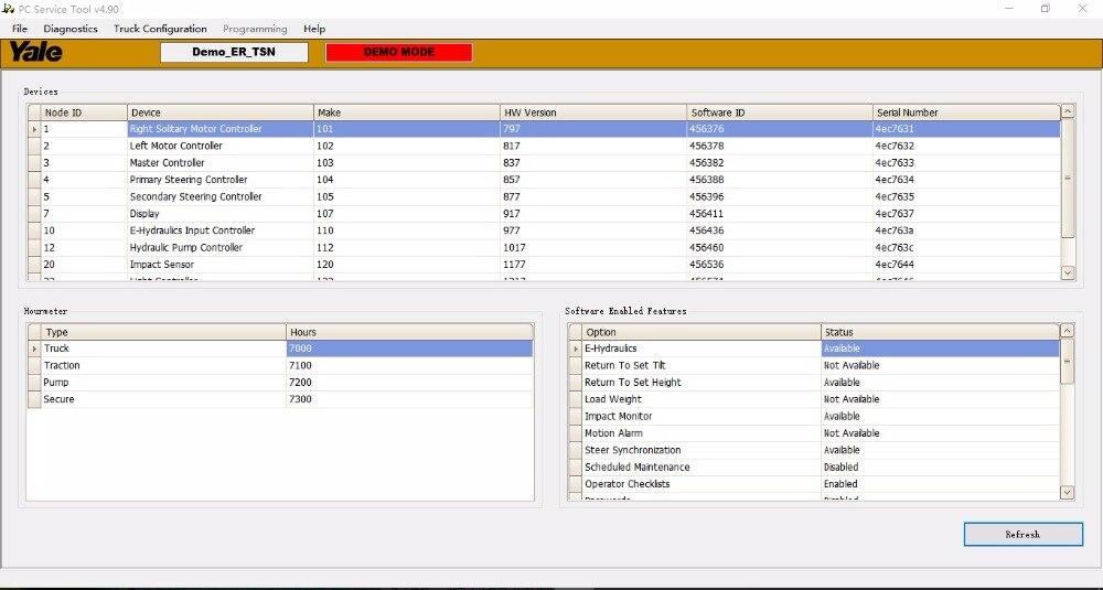 Hyster とエール Pc サービスツール V 4.93 + keygen の  グループ上の 自動車 &バイク からの ソフトウェア の中 1