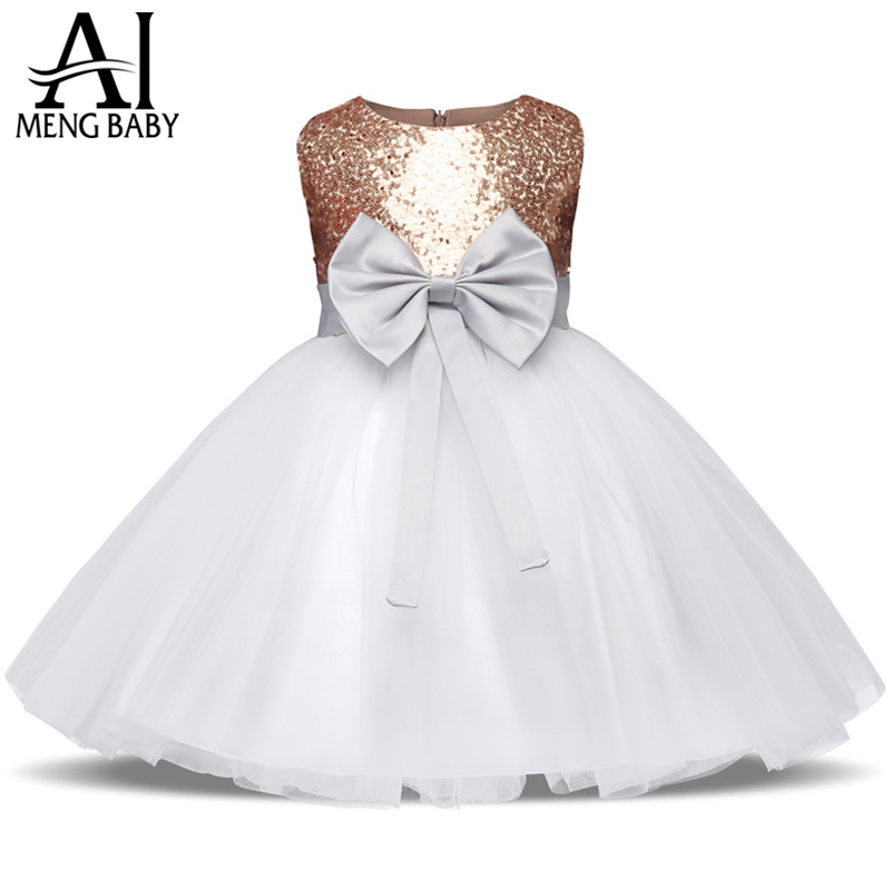 38c5a5c1a Ai Meng Baby Girl Christening Gown Newborn Baby Girl First Birthday ...