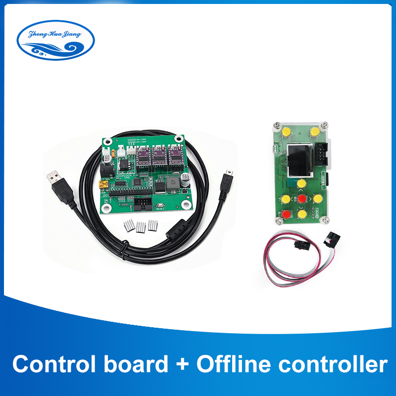 GRBL 1.1J,USB port cnc engraving machine control board, 3 axis control,with Offline Controller for 1610,2418,3018 laser cnc etc.GRBL 1.1J,USB port cnc engraving machine control board, 3 axis control,with Offline Controller for 1610,2418,3018 laser cnc etc.