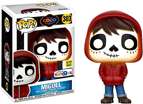 Exclusive FUNKO POP Official Glow in the dark Coco - MIGUEL Vinyl Action Figure Collectible Model Toy with Original Box funko pop official movies moana maui pvc action figure toys 2017 new 100% original pop toy for children baby gift comes with box