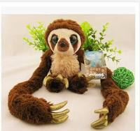 Foreign trade of the original single belt primitive monkey 65cm monkey plush toy doll Croods long arm of Children's Day gift