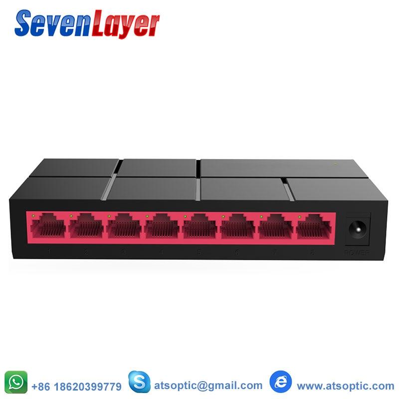 8 Ports Gigabit Switch 10/100/1000Mbps SG105M  RJ45 LAN Ethernet Fast Desktop Network Switching Hub Shunt