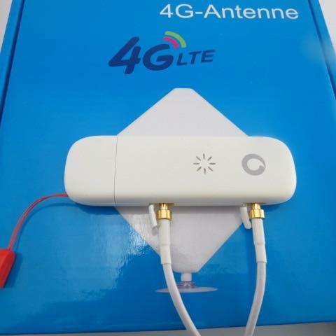 ФОТО Original Vodafone K5008-z LTE Dongle 100Mbps 4G USB Modem+4g ANTENNA 35DBI