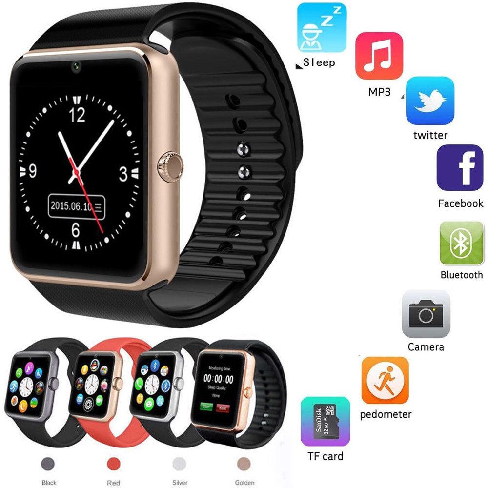 2018 nye smart ur Bluetooth og g chokur Kan svare telefonen smart - Mænds ure - Foto 1