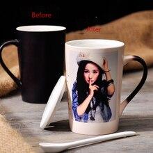 450ML color changing mug heat sensitive coffee mug,hot water for gift