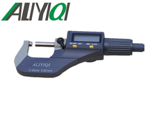 Cheaper free shipping 0-25mm digital electronic outside micrometer calipers measuring tool