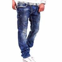 Yüksek Kalite Moda İlkbahar & Yaz erkek Kot Pantolon Ince Elastik Rahat kot Eğlence Erkek Jeans Masculina