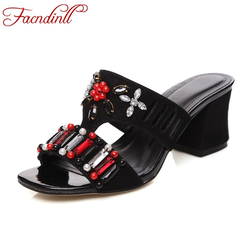 rhinestone genuine leather gladiator summer sandals women shoes sexy thick high heels peep toe women dress party wedding shoes 2017 new sexy thin high heels peep toe shoes woman sandals genuine leather women silver party wedding gladiator summer sandals