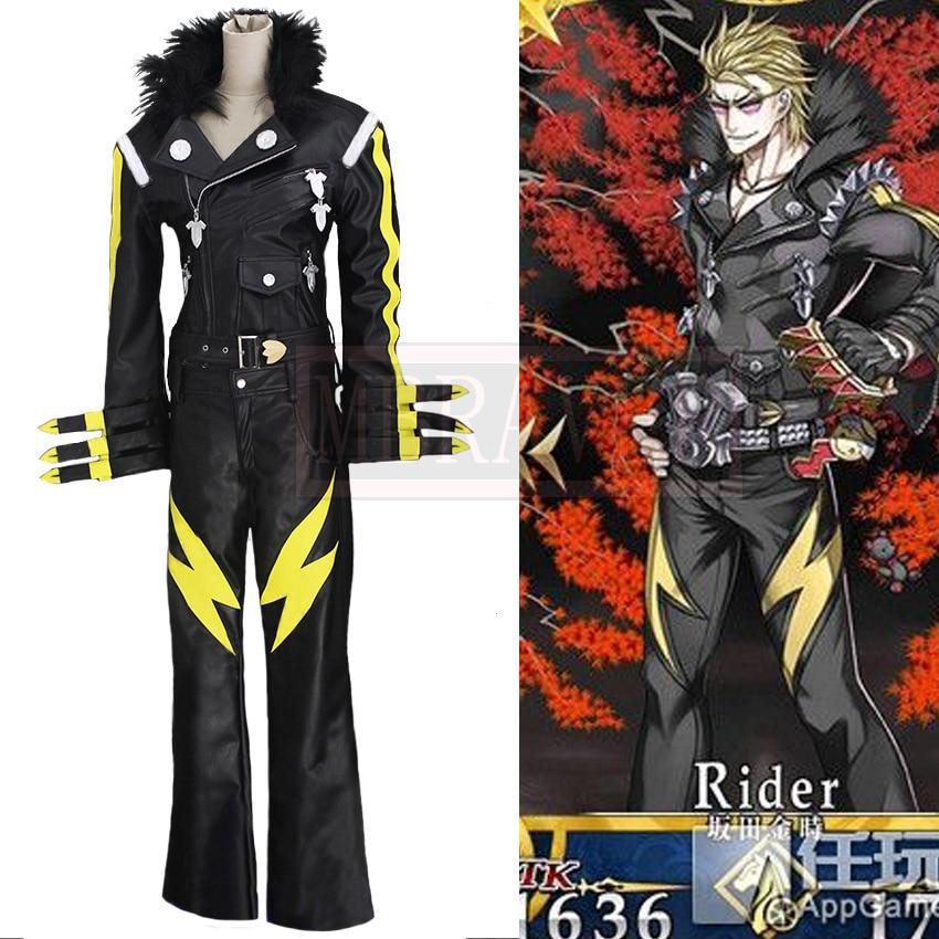 Fate/Grand Order Sakata Kintoki Cosplay Costume Halloween Uniform Full Set Customized Any Size