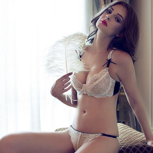 Cheap Slim Lace Sexy Embroidery Transparent Smoky Gray Bras Sets without  Mat in Summber Hot Sale for Ru Us Uk Es Br fbdff8d96